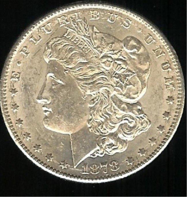 2X: 1878 S Better Date Nice Morgan