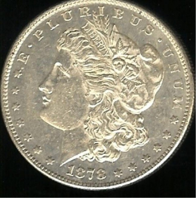 3X: 1878 S Better Date Morgan Silver Dollar