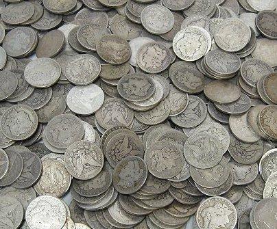 1S: Lot of 100 Morgan Dollars - ag-xf