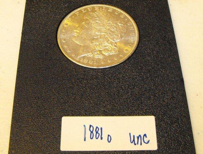 4Q: 1881 o UNC Morgan