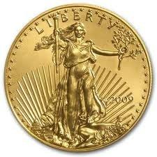 5X: 1 oz Gold Eagle Bullion - Random Date