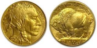 18K: 1 oz Us Gold Buffalo Bullion 24K .9999