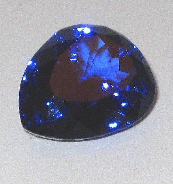6W: Pear Shape 19.94 ct. Tanzanite-Superb Investment