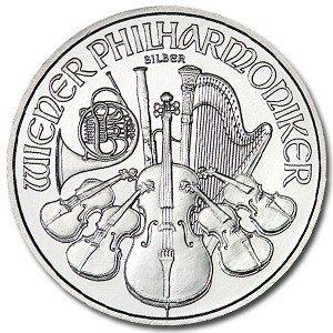 5: (10) Austrian Philharmonic Silver Bullion 1 oz
