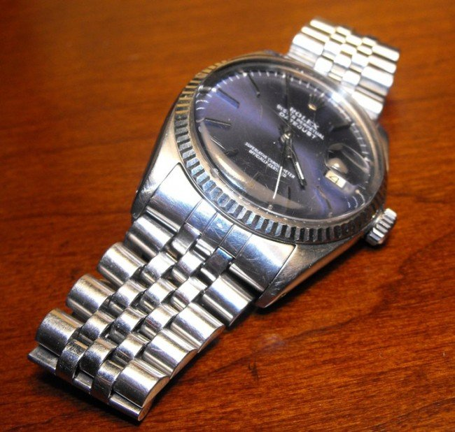 1: Authentic Rolex Blue Dial Oyster Date Just
