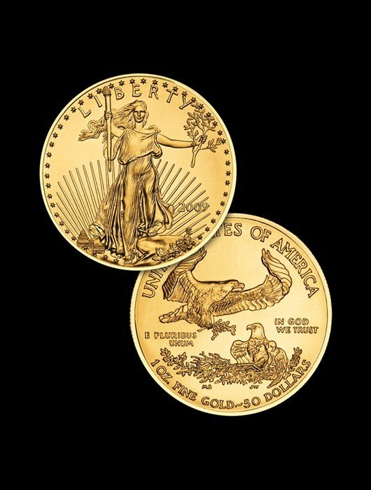 2B: 1 oz Gold Eagle Bullion Coin