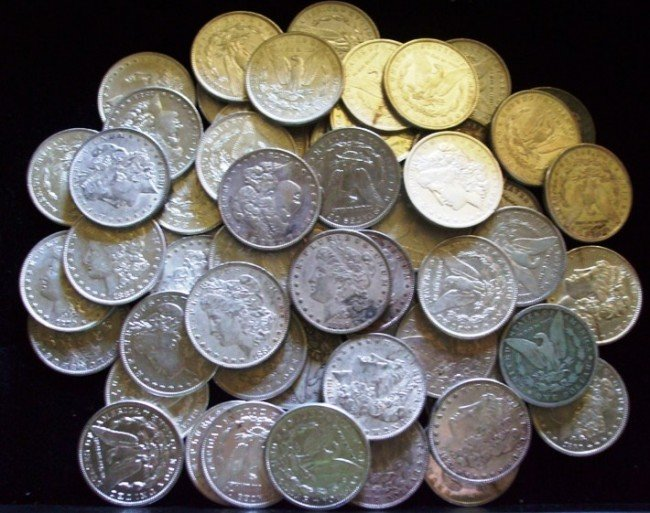 4B: Lot of 50 Assorted Morgans