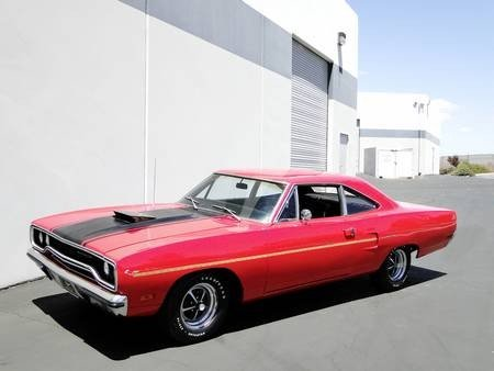 2W: 1970 PLYMOUTH ROADRUNNER N96 AIR GRABBER 383ci