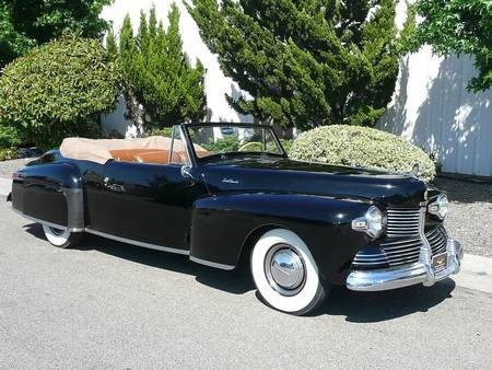 4W: 1942 LINCOLN CONTINENTAL V12 CABRIOLET  1 of 136