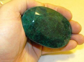 1C: Very Large 1279 ct. Emerald Gemstone w/ Appraisal