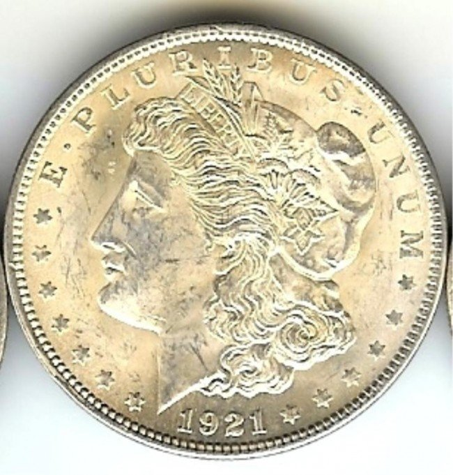 3C: 1921 P Bright Morgan