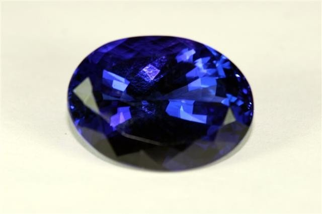 1W: 38.25 World Famous Size Tanzanite - VERY RARE