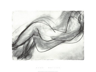 5T: High Quality Serigraph - Matisse - Nude