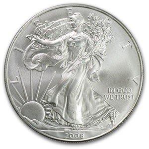 2Y: 1 oz Random Date UNC US Silver Eagle