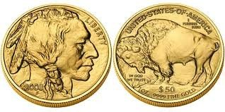 3K: 1 oz Us Gold Buffalo Bullion 24K .9999