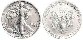 3Y: 1 oz. Random Date UNC US Silver Eagle