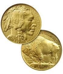 4K: 1 oz Us Gold Buffalo Bullion 24K .9999
