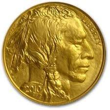 8K: 1 oz Us Gold Buffalo Bullion 24K .9999