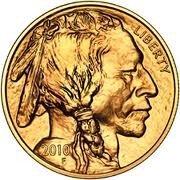9K: 1 oz Us Gold Buffalo Bullion 24K .9999