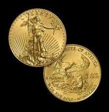 9X: 1 oz Gold Eagle Bullion - Random Date