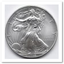 9Y: 1 oz. Random Date UNC US Silver Eagle