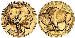 10K: 1 oz Us Gold Buffalo Bullion 24K .9999