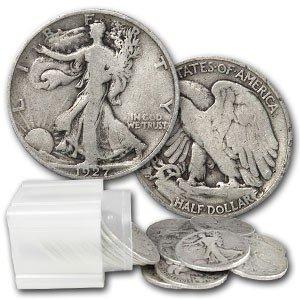 6: Lot of 20 Walking Liberty Halves 1930-40's