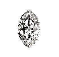 5X: 3.36 ct. Marquise-Cut Loose Diamond (G, SI1)
