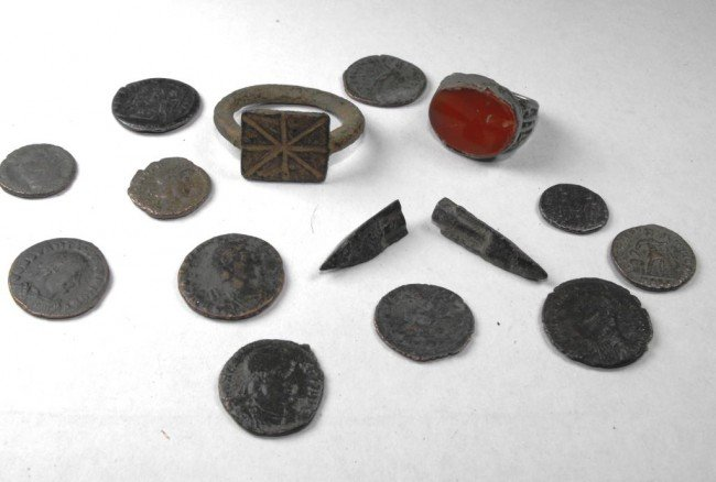 1C: Roman Empire Period Lot - ALL 2000 YRS OLD