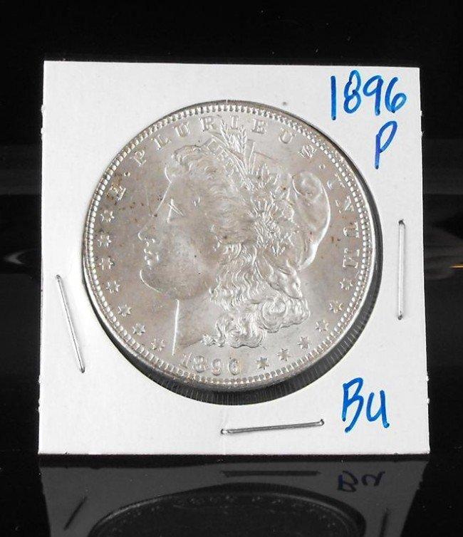 3A: 1896 p BU Morgan Dollar