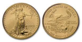 4X: 1 oz Gold Eagle Bullion - Random Date