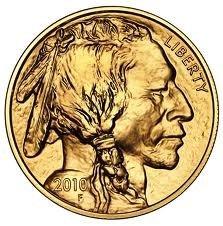 6K: 1 oz Us Gold Buffalo Bullion 24K .9999