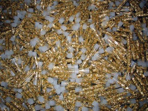 1U: 5000 Vials Gold Leaf - No liquid- Non Bullion -
