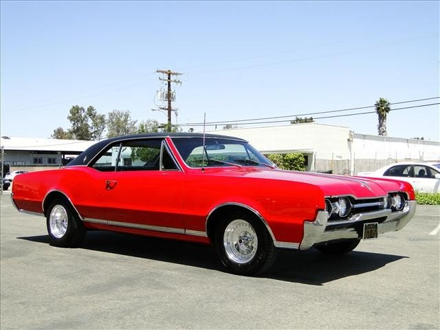 1X: 1967 Oldsmobile CUTLASS - RED Beauty!