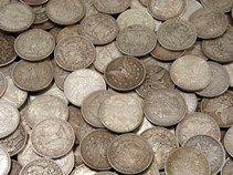 6S: Lot of (100) Morgan Silver Dollars (ag-vg)