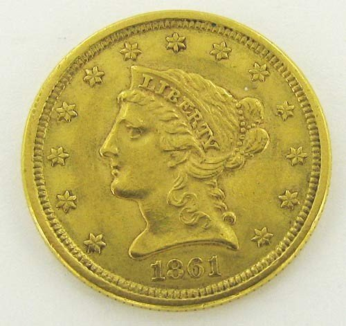 6: $2.5 Liberty Coin- Random Date from Larger Cache