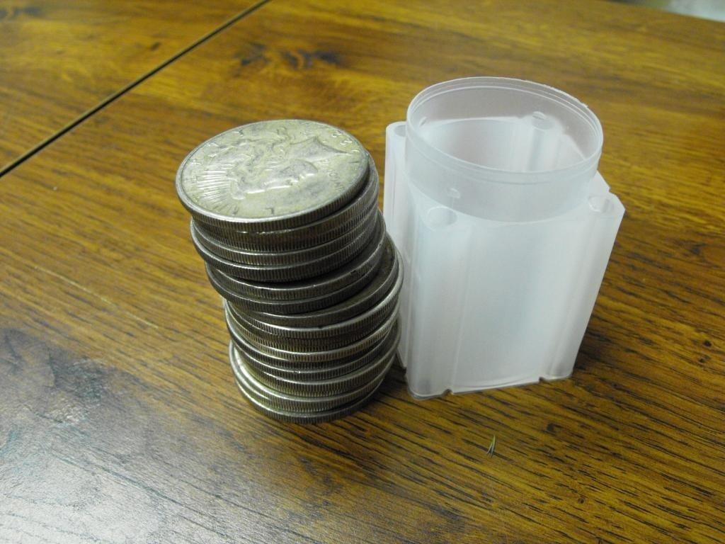 2B: (20) Silver Dollars - 1922-34 Peace Dollars