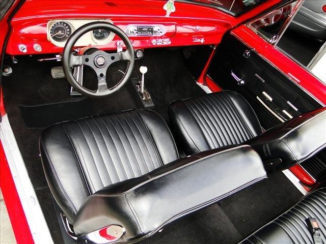 1J: 1962 Chevy Nova - Red Convertible Restored! - 4
