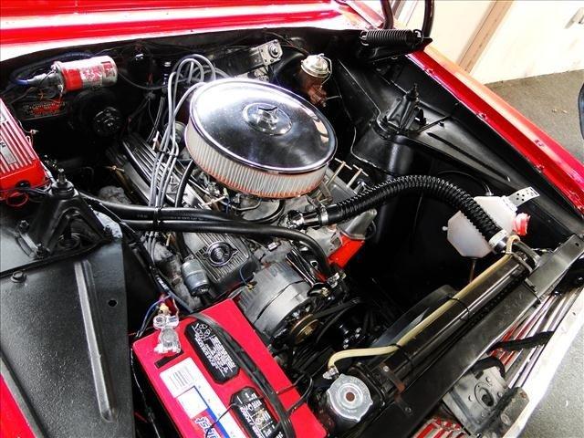 1J: 1962 Chevy Nova - Red Convertible Restored! - 6