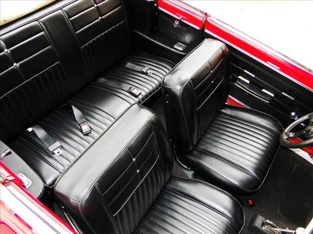1J: 1962 Chevy Nova - Red Convertible Restored! - 8