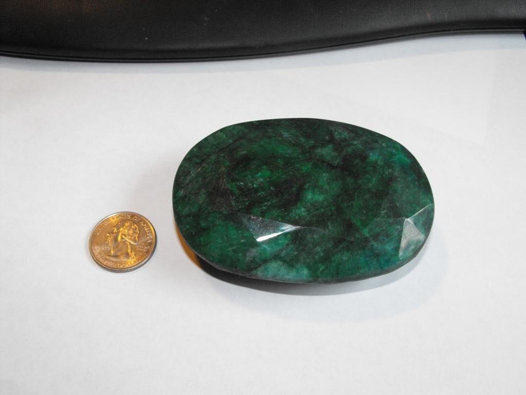 3K: Museum Size 1500 ct. Emerald Gem- $ 65k GG GIA