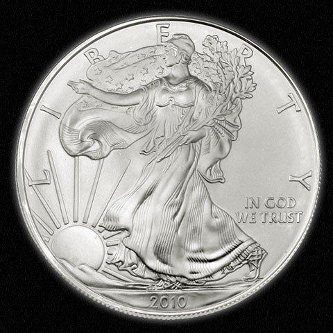 551A: Silver Bullion 1 oz. Silver Eagle- Random date-
