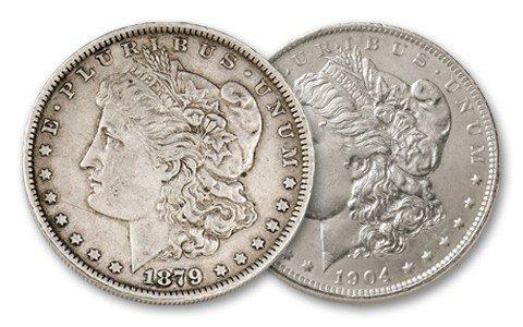 5: First & Last New Orleans Morgan Dollar Set