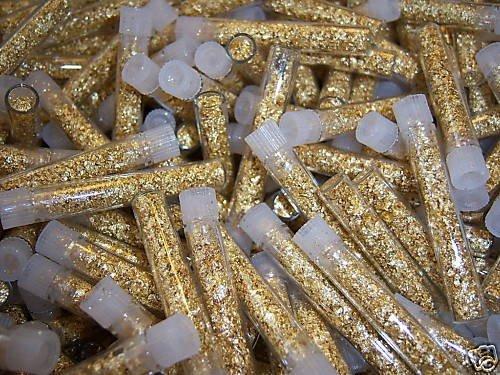 3A: Lot of 100 Gold Leaf Vials - Non Bullion