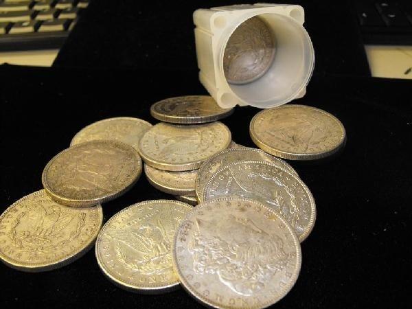 1R: (20) Morgan Silver Dollars