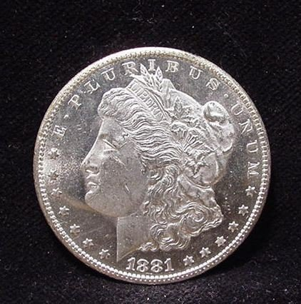 4C: 1881 S Proof Like Morgan