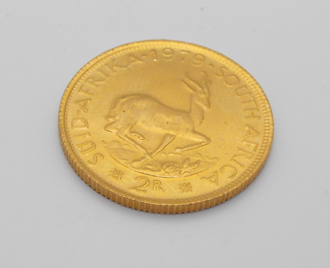 2T: 1979 2 Rand South African Gold