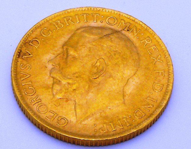 4T: 1928 Full Sovereign Gold Coin- Pretoria