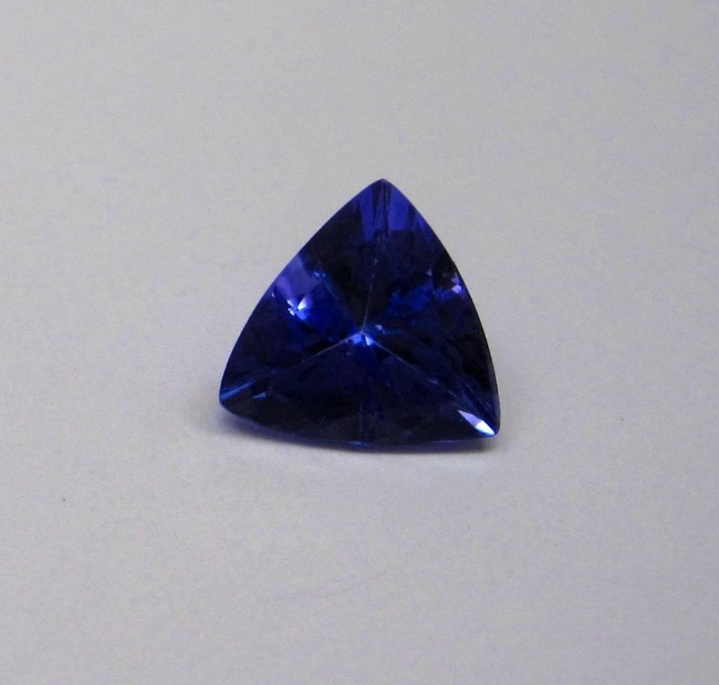 5G: 2.30 ct. Trilliant Cut Tanzanite Top Grade