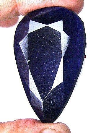2W: 390 ct. Pear Shaped Sapphire Gem